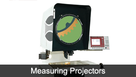 Measuring projectors
