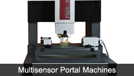 Multisensor portal machine
