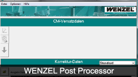 WENZEL Post Processor