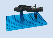 ALUMESS clamping system – The fixturing and palletizing system for CMM's